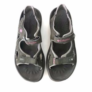 Columbia Womens Gray Pink Hiking Sandals